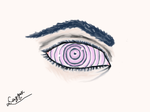Rinnegan Eye- Inspired By Naruto Shippuden by XxCazzaxX