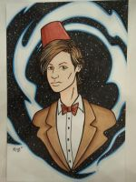 Doctor Who Matthew Smith Commission by RichBernatovech