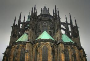 Prague 3 - Gothic cathedral by wgffwgf