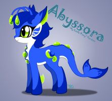 Abyssora - My Little Pony Version by LuckyLucario