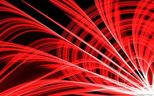 Scarlet Abstract Wallpaper. by ECC500