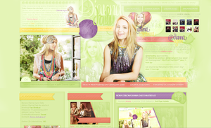 Dianna Agron layout by sweetkowa