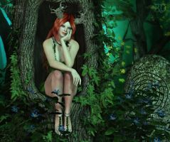 Nymph of the Old Oak Forest by RavenMoonDesigns