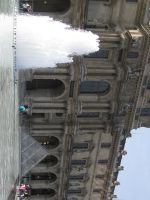 Fountains of the Louvre by cease-this-fear