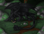 Toothless Day by AFrozenHeart