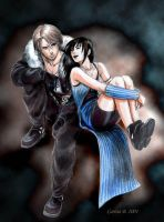 Final Fantasy VIII couple by AniHime