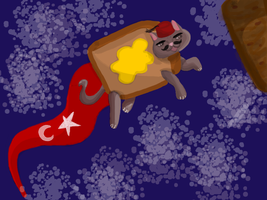 Turkish Nyan Cat by MintMcCloud