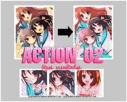 Actions 02 by PsychedelicxRainbow