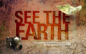See the Earth wallpaper by oyO