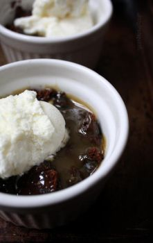 10 minute sticky toffee pudding by claremanson