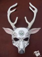 Artemis Deer Mask by b3designsllc