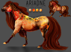 CHARACTER SHEET: ARIANDE by THE-TRAGEDY-GALLERY