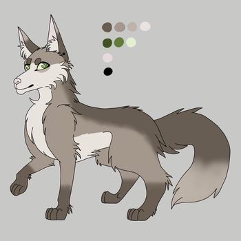 Wolf Ref by LunarButterflies