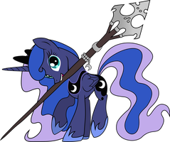 Luna's Staff by TheOneWithTheOctaves