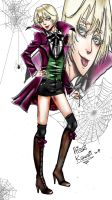 Alois motherfucking Trancy by AissriKawaii