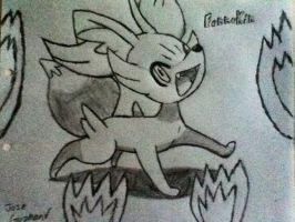 6th Generation Fire type Starter Fennekin by PHILOSARAPTOR547
