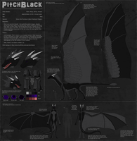 Pitchblack Ref Sheet Commish by Xeraki