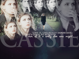 Skins - Cassie, love. by Spenne