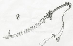 Elven Sword of Sylvaneon by Xildaen