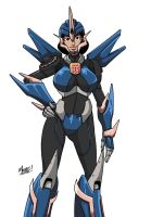 Stream - Arcee'ed June Darby (Colored) by SeanRM