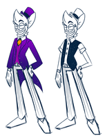 Ringmaster's Dumb Outfits by theStupidButterfly