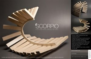Scorpio-elegant pet bed by Cindiq