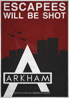 Batman Arkham City Propaganda by Titch-IX