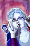 iZOMBIE Episode 02 - Promo Art by WScottForbes