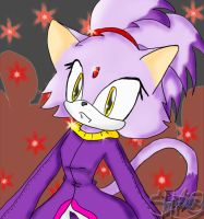 Blaze the cat by Shontiachaosmaster