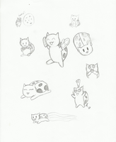 Catbug Stetches by RSforsevers