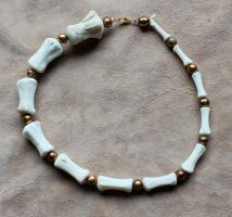 Open For Commission: Horse Tail Bone Chokers! by lupagreenwolf