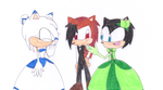 Jack Meets Mine (Glide's New Girlfriend) by sonic4ever760