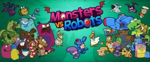 Monsters vs Robots by amoraleite