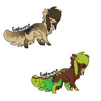 Adopts 2 by LeveButt
