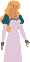 Princess Odette Without Shoes On by ChipmunkRaccoon2