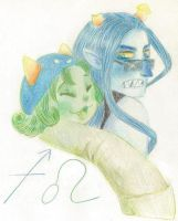 NEPETA AND EQUIUS by SRAYA