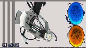 GlaDOS by andrewbaay