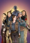 Rogue One Squad by eclecticmuses