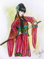 Chinese Sword Girl by stargate4ever23