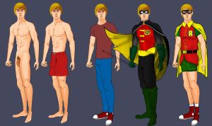 Evolution of Robin by baccus1990