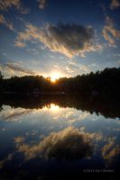 Mirror Lake Sunset by Karl-B