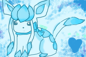 ~Glaceon~ by silvaglace