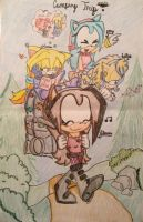 BFF Camping Trip!!! by alishadowriter