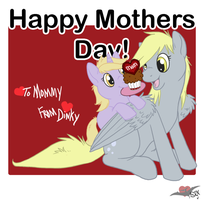 Derpy's Happy Mothers Day by PterosaurPony