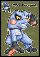 Pokemon: Croagunk 2012 by AirRaiser