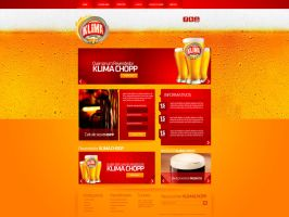 Website - Klima chopp by gbwebdesigner