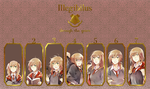 Illegibilus - Through the Years by pepperplane