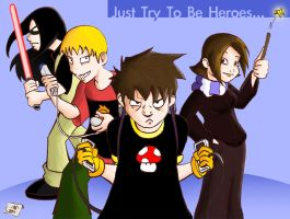 FKGL : Just Try To Be Heroes by JeiXtremo