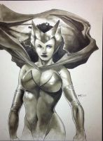 Scarlet Witch HC 2011 Sketch by RichardCox