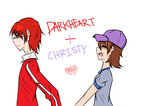 Darkheart and Christy by Missxalone